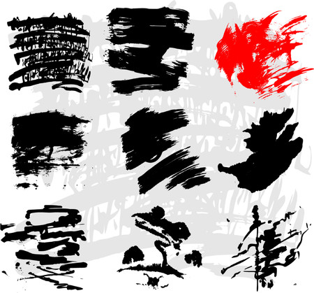 Grunge vector backgrounds