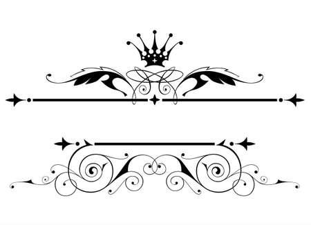 vintage heraldic emblem Stock Vector - 2171613