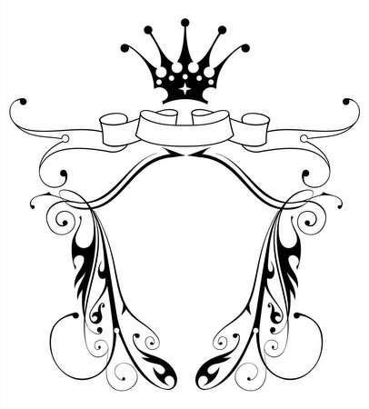 vintage heraldic emblem Stock Vector - 2171614