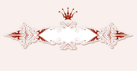 vintage heraldic frame Stock Vector - 2361910