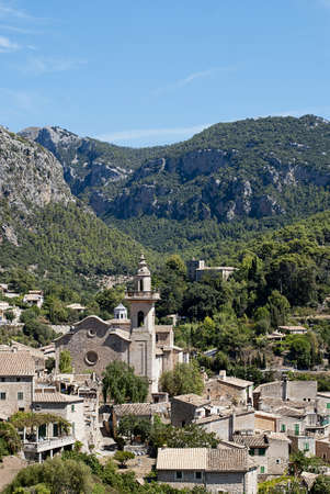 Valldemossa , village and municipality on the island of Majorca, part of the Spanish autonomous community of the Balearic Islands