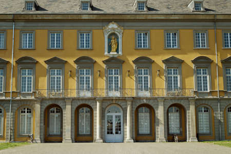 architectural studies: University in the center of Bonn, Germany Stock Photo