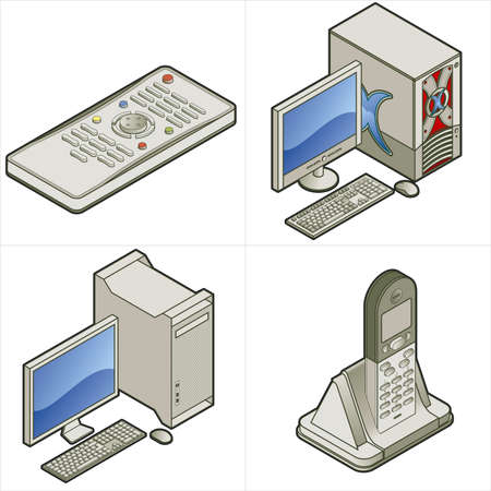office appliances: Design Elements p. 15d - high resolution images elements for general use,  I hope you enjoy.