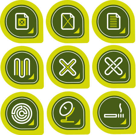 Design Elements p. 12a - high resolution icons for general use, simply change any colour as you wish. I hope you enjoy.
