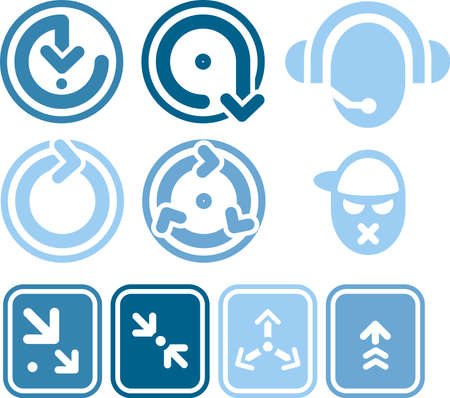 Design Elements. Icons p. 1b a high resolution image for general use, I hope you enjoy