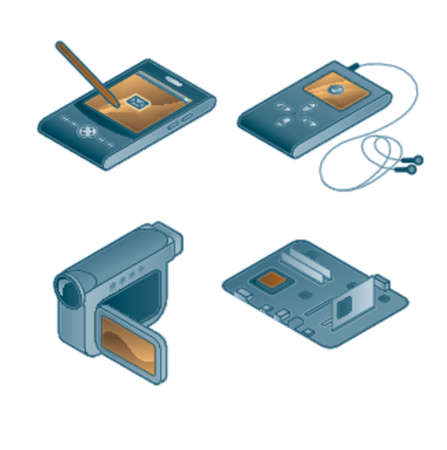 handheld device: Design Elements 44c. Illustration