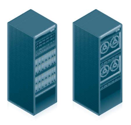 red lan: Conjunto de iconos de hardware de ordenador - Dise�o Elementos 55l, es especialmente dise�ado con un dise�ador de web en cuenta para lograr PIN SHARP ICONOS EN UNA PANTALLA Vectores