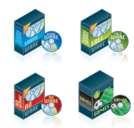 Computer Hardware Icons Set - Design Elements 57f, it's specially designed with a web designers in mind to achieve PIN SHARP ICONS ON A SCREEN Stock Vector - 903067