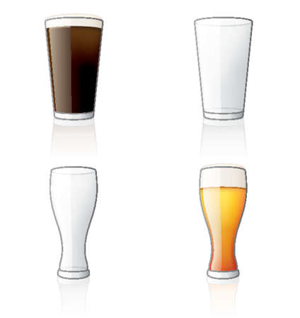 beer glass: Glass Icon Set 60b, its specially designed with a web designers in mind to achieve PIN SHARP ICONS ON A SCREEN.