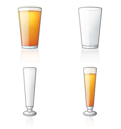beer glass: Glass Icon Set 60c, its specially designed with a web designers in mind to achieve PIN SHARP ICONS ON A SCREEN.