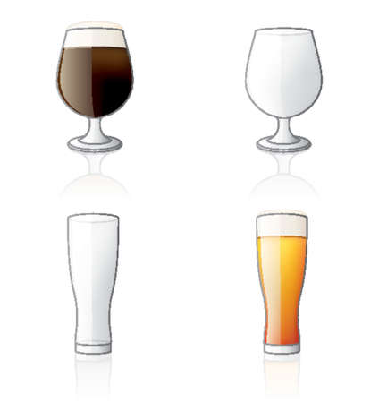 dark lager: Glass Icon Set 60g, its specially designed with a web designers in mind to achieve PIN SHARP ICONS ON A SCREEN. Illustration