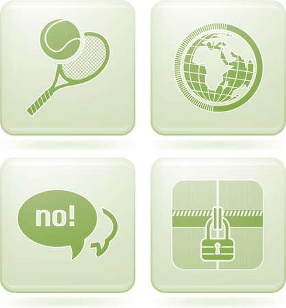 olivine: Iconos 2D de olivino Square