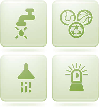 olivine: Olivino 2D al cuadrado set: Camping