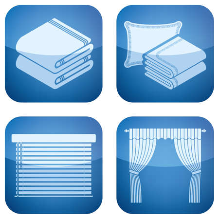 Various fashion icons Illustration