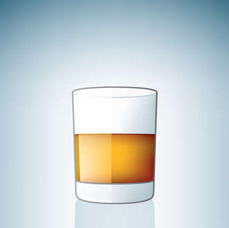 Scotch / Whiskey Glasses (part of the Alcohol Glass Icons Set) Stock Vector - 7214222