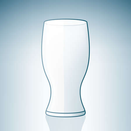 Empty Beer Glass (part of the Alcohol Glass Icons Set) Stock Vector - 7214215