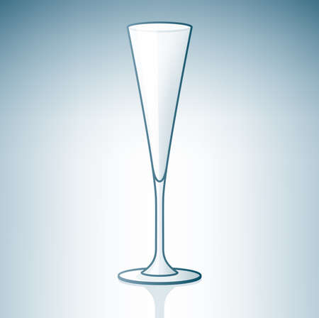 champaign: Empty Champaign  Sparkling  Glass (part of the Alcohol Glass Icons Set)