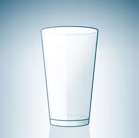 Empty Beer Glass (part of the Alcohol Glass Icons Set) Stock Vector - 7214220