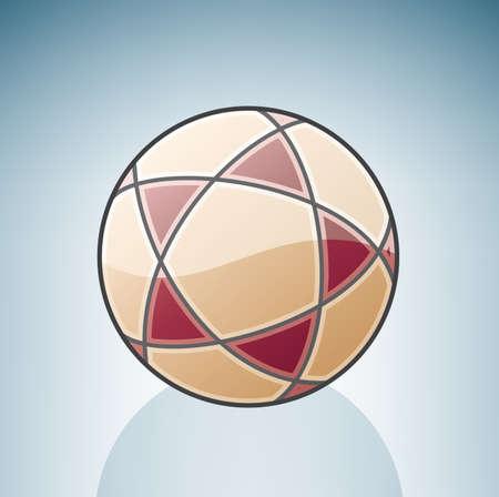 Volleyball Ball Stock Vector - 7337088