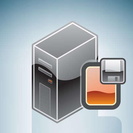 floppy disk: Computer Floppy Disk Drive