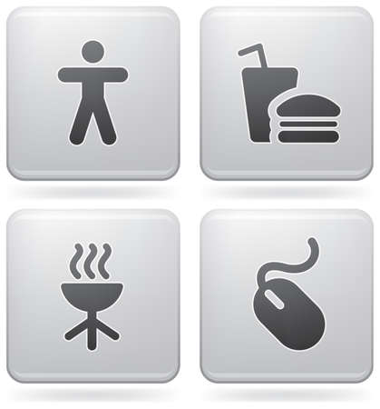 everyday: Miscellaneous everyday icons Illustration