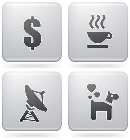 miscellaneous: Miscellaneous everyday icons Illustration
