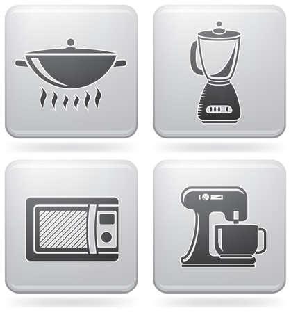 mindennapi: Everyday Kitchen Utensils & Tools Illusztráció
