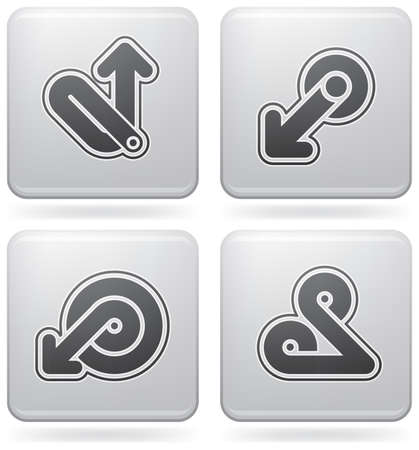 miscellaneous: Miscellaneous Platinum Icons Illustration