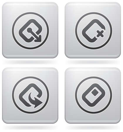 peripherals: Computer peripherals and all kind software file types icons