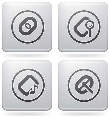 file types: Computer peripherals and all kind software file types icons