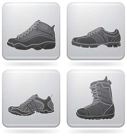 running shoe: Sports footwear