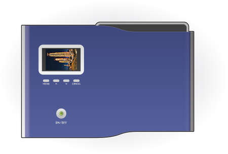 photo printer: Home Color Photo InkJet Printer Top View