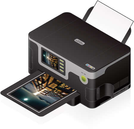 inkjet: 3D Isometric Color Photo InkJet Printer