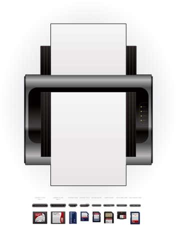 cf: Medium Home Color LaserJet stampante