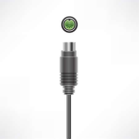 midi: MIDI Out plug & socket Illustration