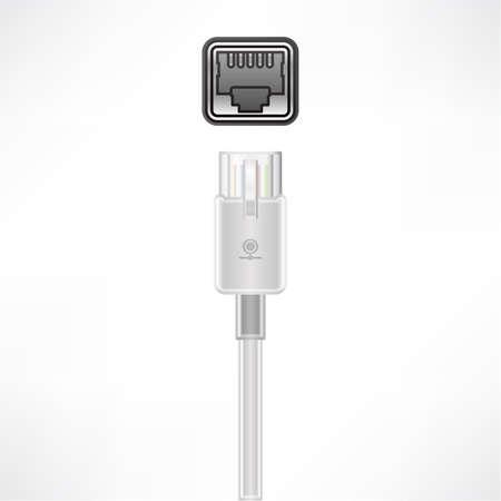 red lan: Socket de conexi�n LAN