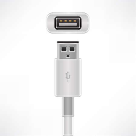 USB type A plug & socket