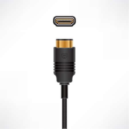 enchufe: HDMI plug & socket
