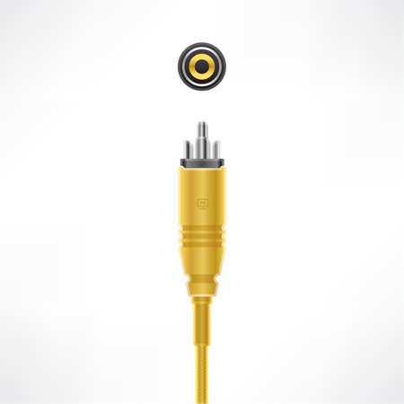 rca: Connettore RCA Video Cable & presa