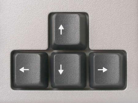 screenshot: Arrows (computer keyboard), clipping path for each key