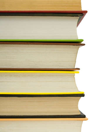 Stack of books, isolated on white background Stock Photo - 1573111