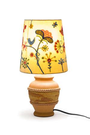 haus beleuchtung: Home Beleuchtung Lampe, isoliert auf wei�em Hintergrund Lizenzfreie Bilder