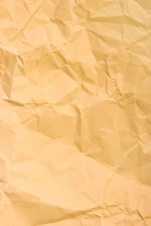 creasy: Crumpled wrapping paper, abstract background Stock Photo