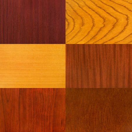 walnut tree: Set of wood backgrounds, abstract wooden retro texture
