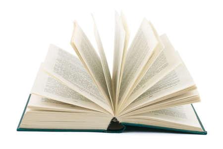 Opened book isolated on white background Stock Photo - 3869915