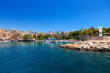 View to Antalya Turkey - travel background Stock Photo
