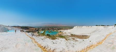 pamuk: Vasche di travertino e terrazze panoramiche - Pamukkale Turchia