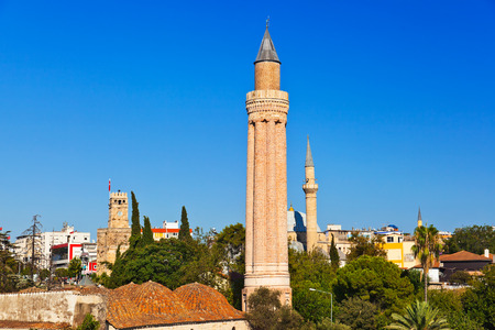 Famous Mosque in Antalya Turkey - architecture background Stock Photo - 22265686