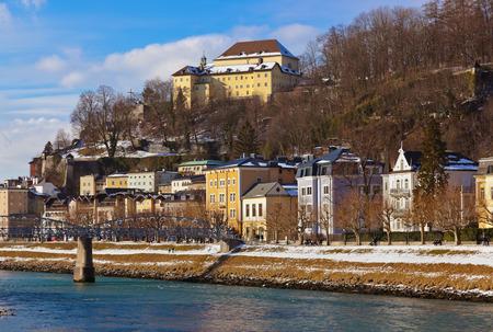 Architecture in Salzburg Austria - travel background photo