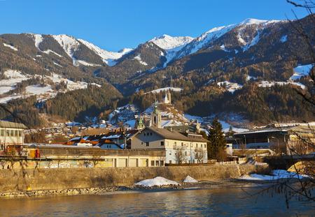 Castle Schwaz in Austria - architecture and travel background